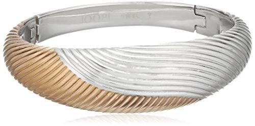 Joop Damen-Armreif WAVES Edelstahl teilvergoldet 0 cm - JPBA10084A600