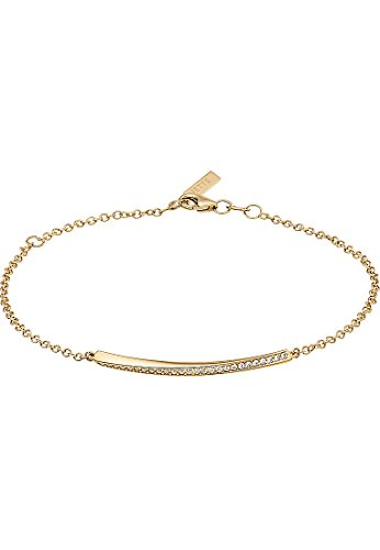 JETTE Gold Damen-Armband 333er Gelbgold 26 Zirkonia One Size, gold