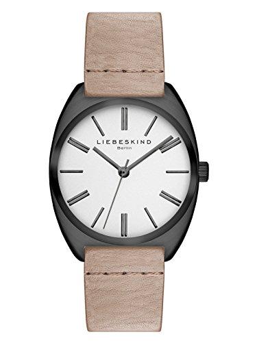 Liebeskind Berlin Damen-Armbanduhr Vegetable Analog Quarz Leder LT-0033-LQ