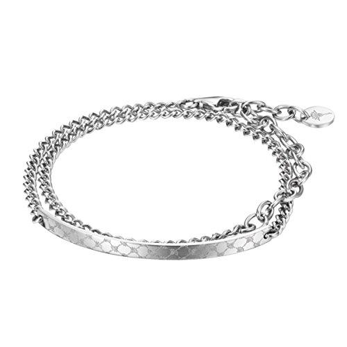 Joop! Damen-Armband Edelstahl 38 cm-JPBR10654A300