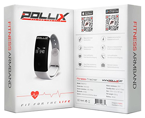 POLLIX - Fitness Activity Tracker (Blau)