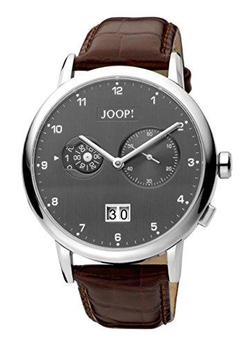 Joop! Herren-Armbanduhr Analog Quarz Leder JP100071002