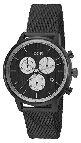 Joop! Herren-Armbanduhr Eric Chronograph Quarz Edelstahl
