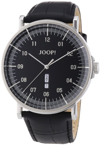 Joop Herren-Armbanduhr XL Executive Analog Quarz Leder JP100821F03