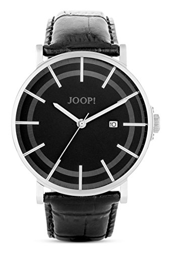 Joop! Herren-Armbanduhr XL Executive Lux Analog Quarz Leder