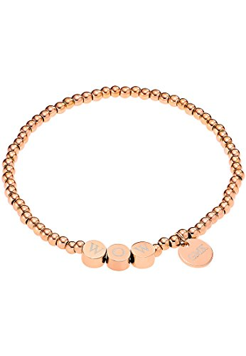 GMK Collection by CHRIST Damen-Armband Edelstahl One Size, rosé