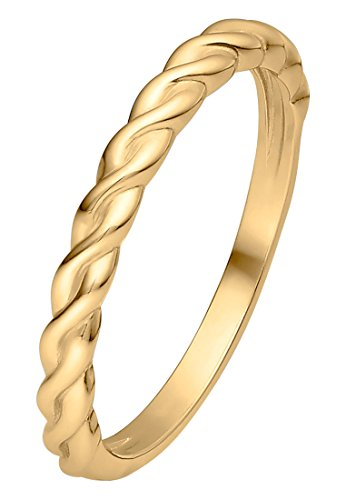 Guido Maria Kretschmer Damen-Ring 375er Gelbgold gold, 58 (18.5)