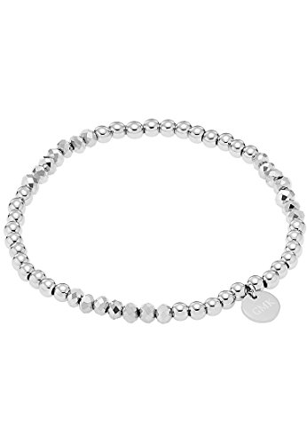 GMK Collection by CHRIST Damen-Armband Edelstahl Kristall One Size, silber