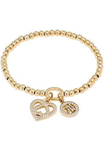 GMK Collection by CHRIST Damen-Armband Edelstahl 69 Zirkonia One Size, gold