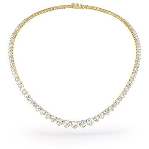 Jian London Halskette Gold Kunstdiamant