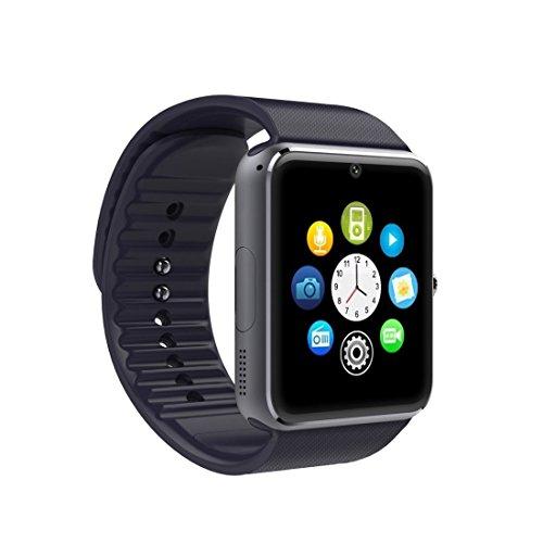 HEGG - Smartwatches (Silber + Schwarz)