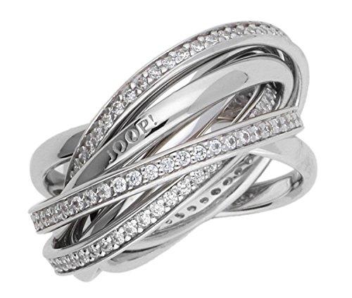 Joop Damen Fingerring Silber Silber Embrace JPRG90681A