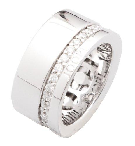 Joop Damen-Ring Scarlett 925 Sterling Silber mit Zirkonia weiß JPRG90513A