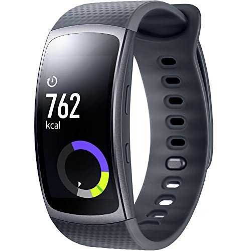 Samsung Gear Fit II - Smartwatch mit Herzfrequenzmessung und Notifications Blue (S)
