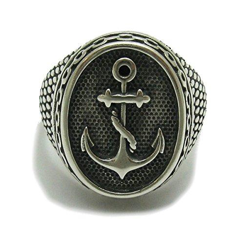 Sterling silber 925 herren Ring Anker R001715