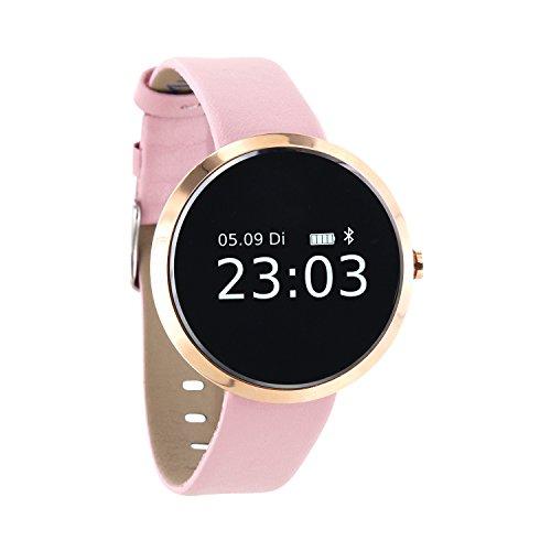 X-WATCH │ SIONA XW FIT │Damen Smartwatch - Fitness Armband - Schrittzähler Armband Frauen