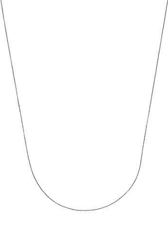 Guido Maria Kretschmer Damen-Kette 375er Weißgold One Size, weißgold