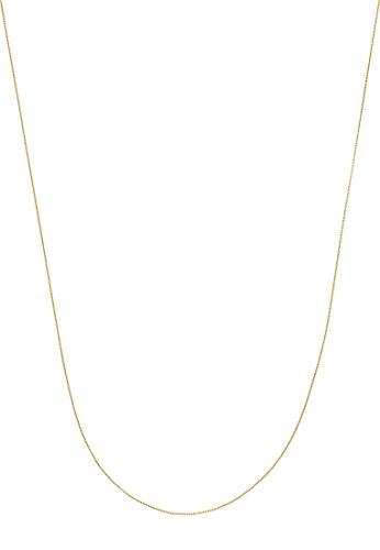 Guido Maria Kretschmer by CHRIST Damen-Kette Collier mit Slider 585er Gelbgold One Size, gold