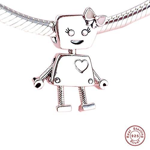 MOCCI 2018 Frühling Bella Bot Rosa Emaille Perlen 925 Silber DIY Passend für Ursprüngliche Pandora Armbänder Charm Modeschmuck