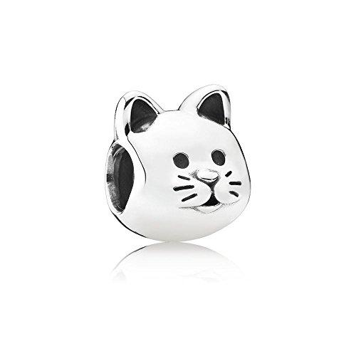 Pandora Damen-Bead Neugieriges Kätzchen 925 Silber - 791706