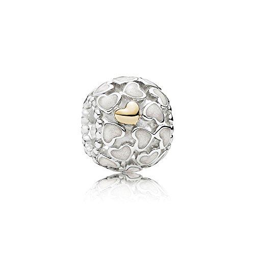 Pandora Damen-Charm Schimmernde Liebe im Überfluss 925 Silber - 791283EN23