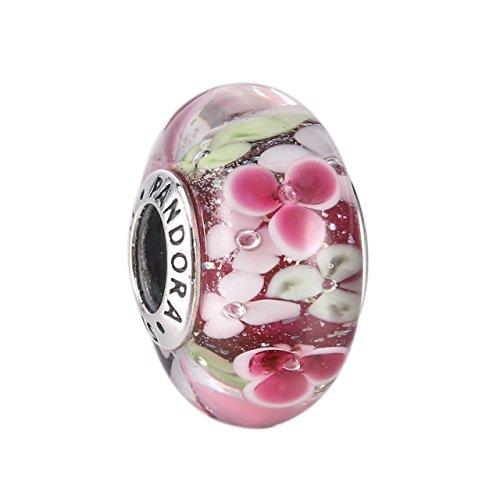 Pandora Murano 791652 Blüten Garten Charm