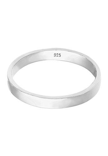 Elli Ring Basic Bandring 925er Silber