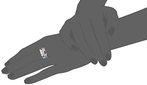 Fossil Damen-Stapelring Edelstahl mit Rund Perlmutt '- Ringgröße 54 JF03144040-7