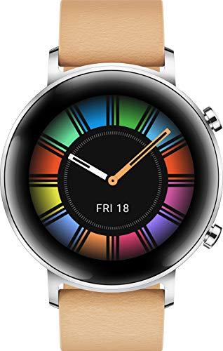 HUAWEI Watch GT 2 Sport (42 mm), [Exklusiv +5EUR Amazon Gutschein], Lake Cyan + Band 4 wasserdichter Bluetooth Fitness…