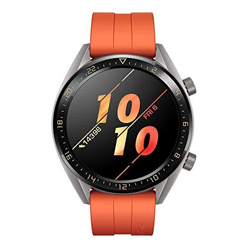 Huawei Watch GT Active Smartwatch (46 mm Amoled Touchscreen, GPS, Fitness Tracker, Herzfrequenzmessung, 5 ATM…