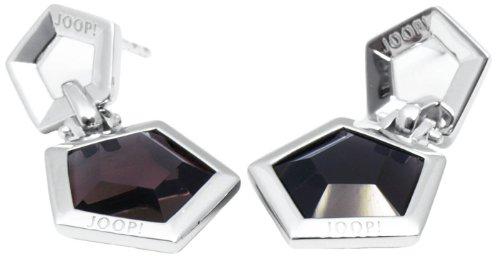 Joop! Damen-Ohrhänger mit Zirkonia 925 Sterling Silber JPER90182C000