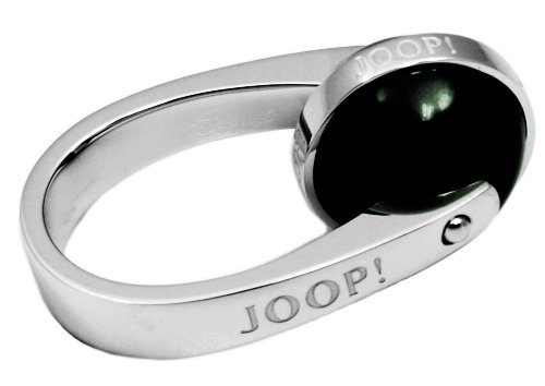 Joop! Damen-Ring 925 Silber Zirkonia Rundschliff grün