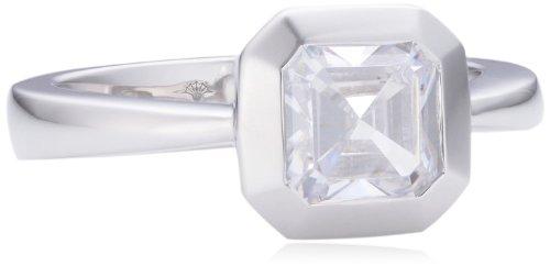 Joop Damen-Ring 925 Sterling Silber Zirkonia Keira weiß JPRG90685A5