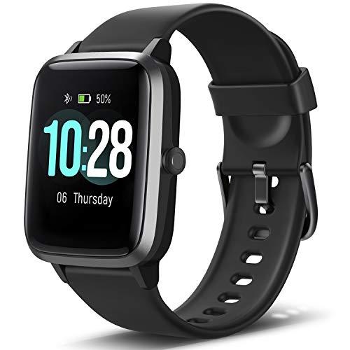 Letsfit Smartwatch, 1.3 Zoll Touchscreen Fitness Armbanduhr, Fitness Tracker mit Pulsuhr, IP68 Wasserdicht Sportuhr mit…