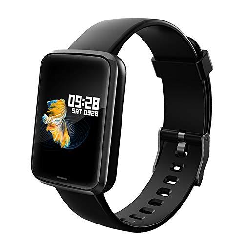 Lintelek Smartwatch NEU Smart Watch Health Watch Fitness Armband Pulsuhren Sportuhr Farbbildschirm Blutdruck Kompatibel…