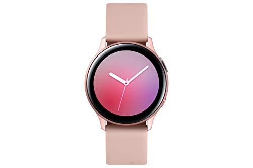 Samsung Galaxy Watch Active2, Fitnesstracker aus Aluminium, großes Display, ausdauernder Akku, wassergeschützt, 40 mm…