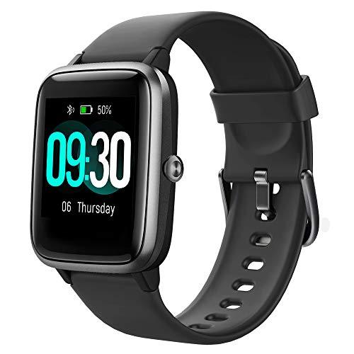 Willful Smartwatch,1.3 Zoll Touch-Farbdisplay Fitness Armbanduhr mit Pulsuhr Fitness Tracker IP68 Wasserdicht Sportuhr…