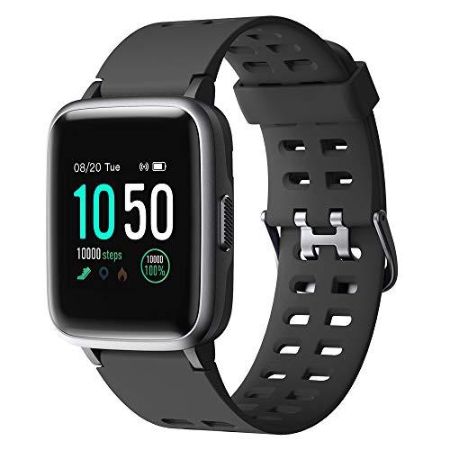 YAMAY Smartwatch,Fitness Armband Uhr Voller Touch Screen Fitness Uhr IP68 Wasserdicht Fitness Tracker Sportuhr mit…