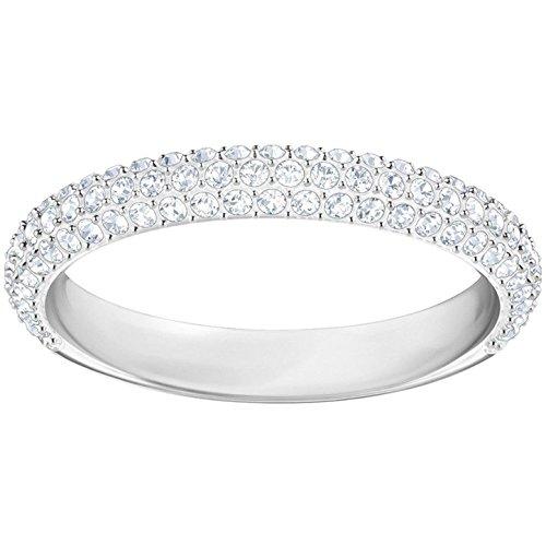 Swarovski Damen-Damenring Metall Swarovski Kristalle 32004764